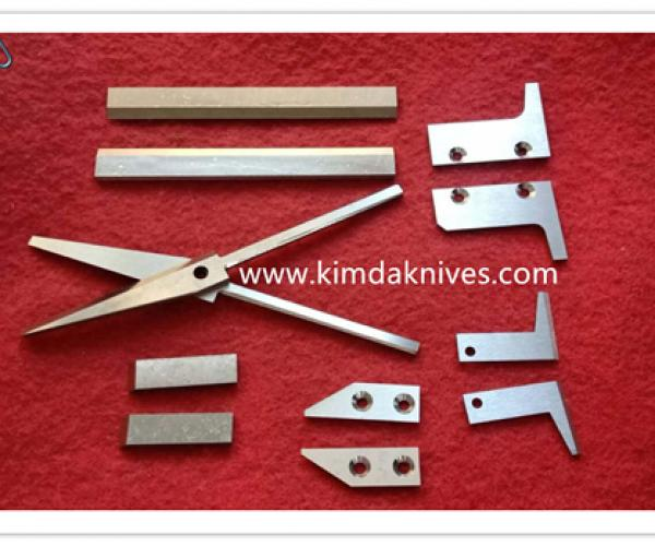 Disposable mask machine knives