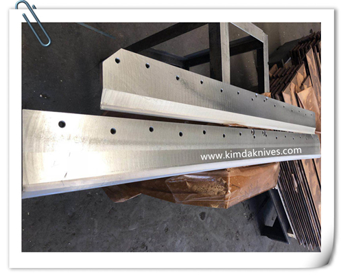 Guillotine Machine Knives-Wohlenberg 115 Paper Cutting Blade